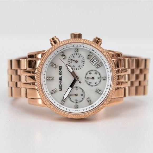 1fe364747b80 Michael Kors Gold Rose Watch MK5026. M 5a5d5c7f31a3761a04628077